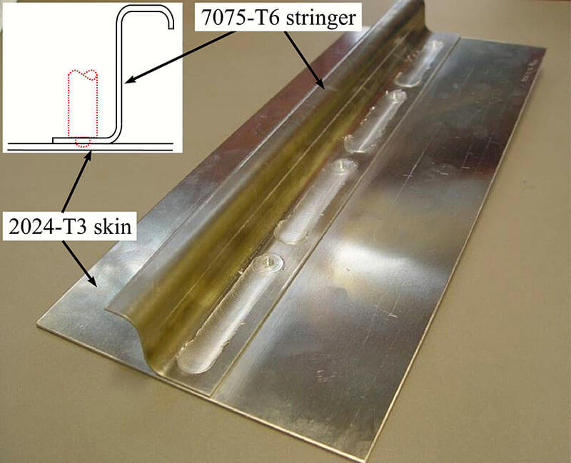 Stirweld replacement stringer