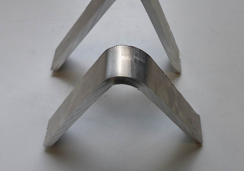 Stirweld's bend tests according to ISO 25239