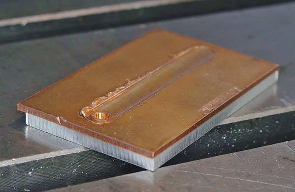 Soudage FSW cuivre sur allu