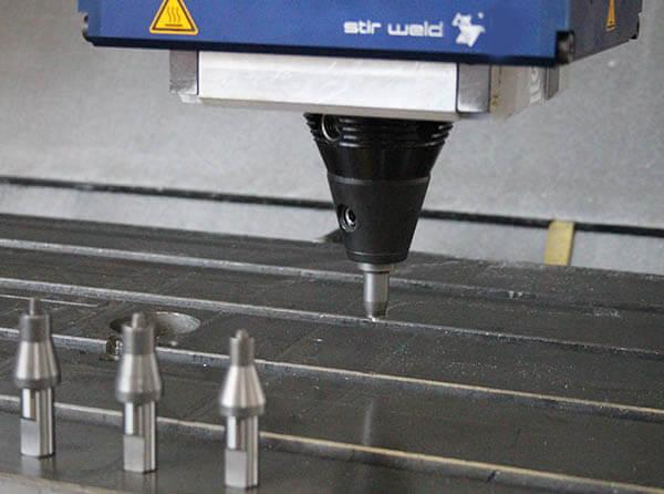 outils soudage par friction malaxage Stirweld