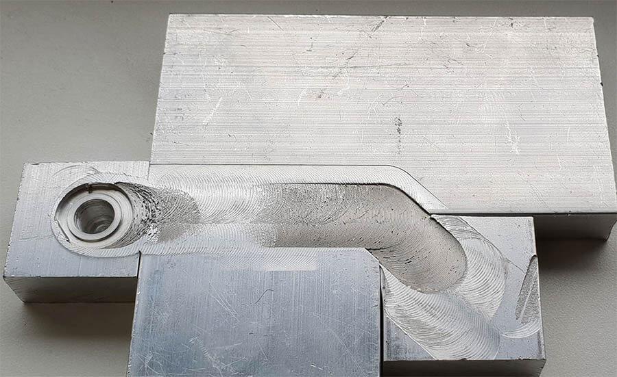 Stirweld FSW exemple sur aluminium
