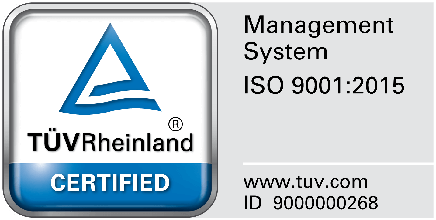Stirweld certification ISO 9001 : 2015
