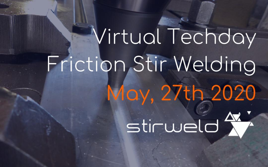 Virtual Techday: Friction Stir Welding