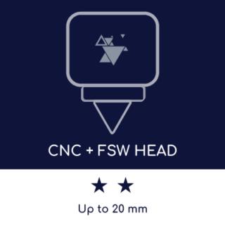 FSW machine: maximum thickness welded