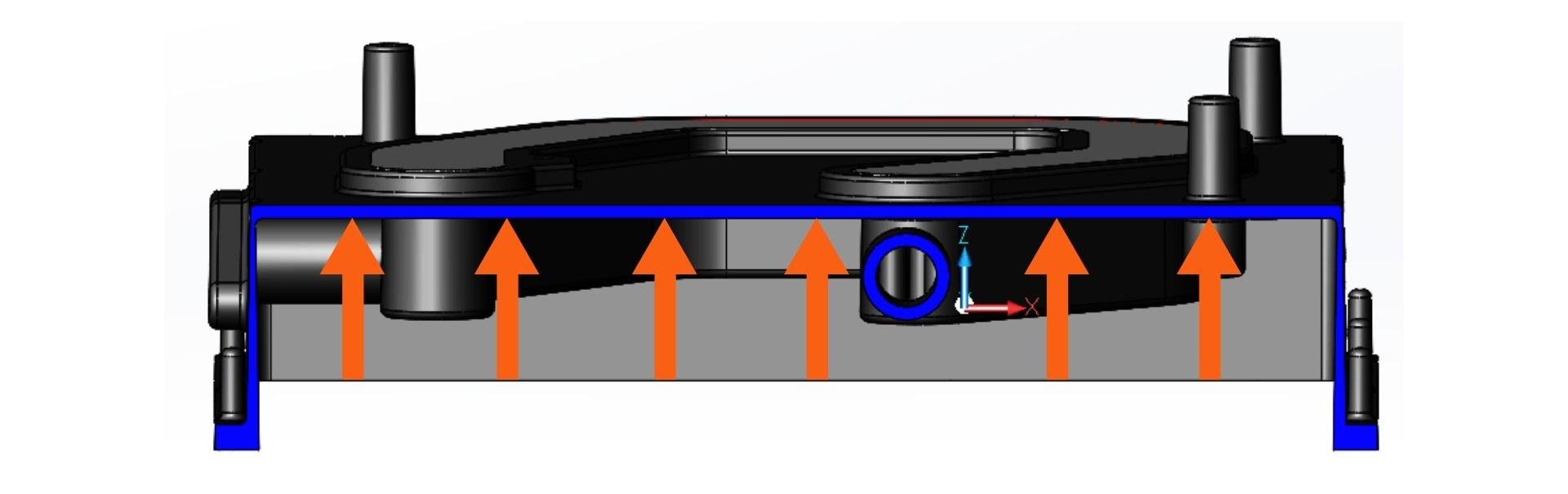 Soudage par friction-malaxage d'une plaque froide moulée sous pression pour l'industrie automobile