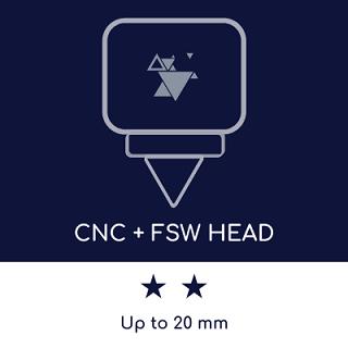 Máquina FSW: espesor máximo de soldadura