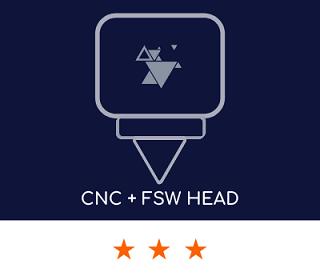 solution FSW avec une empreinte réduite