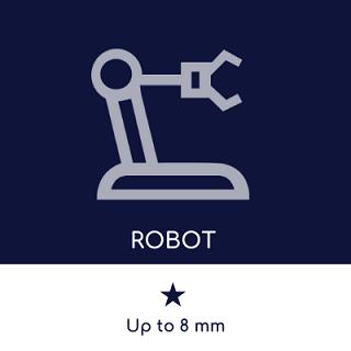 Robot FSW : capacité de soudage