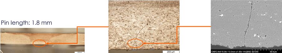 formación de defectos en la soldadura de aluminio por fricción-agitación