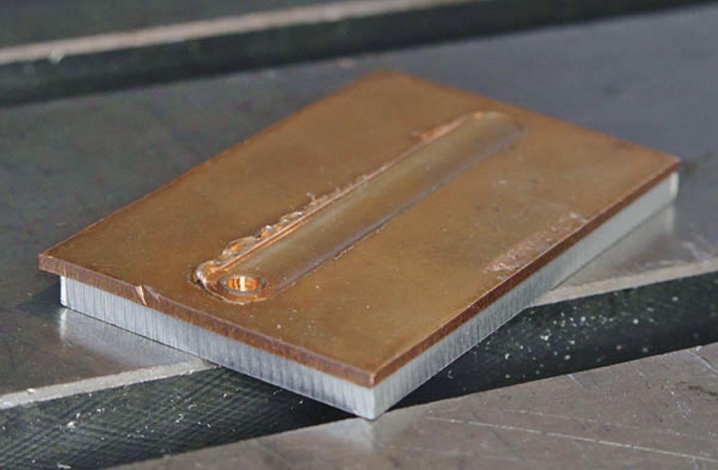 soudage par friction-malaxage de l'aluminium et du cuivre