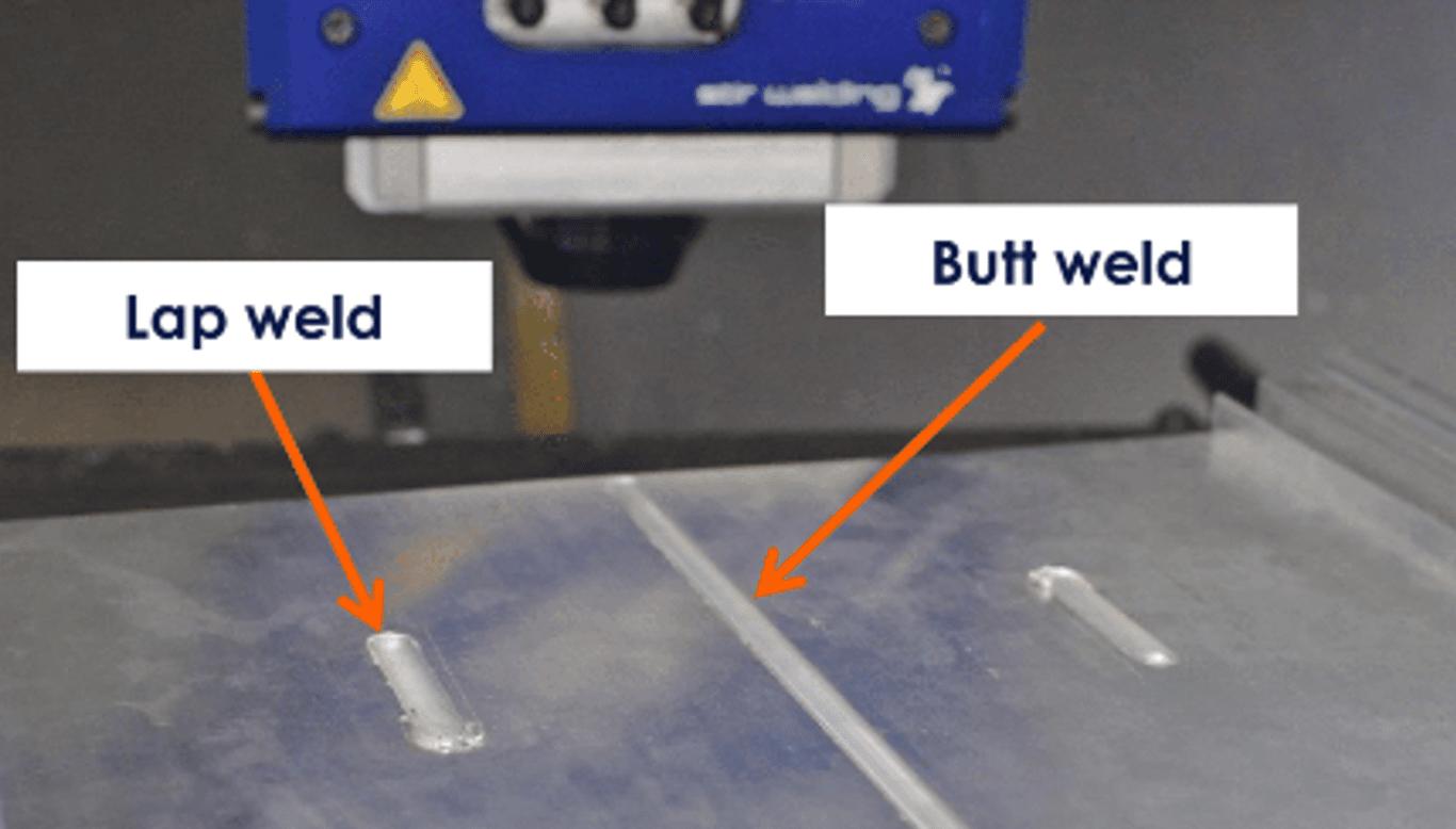 FSW weld types