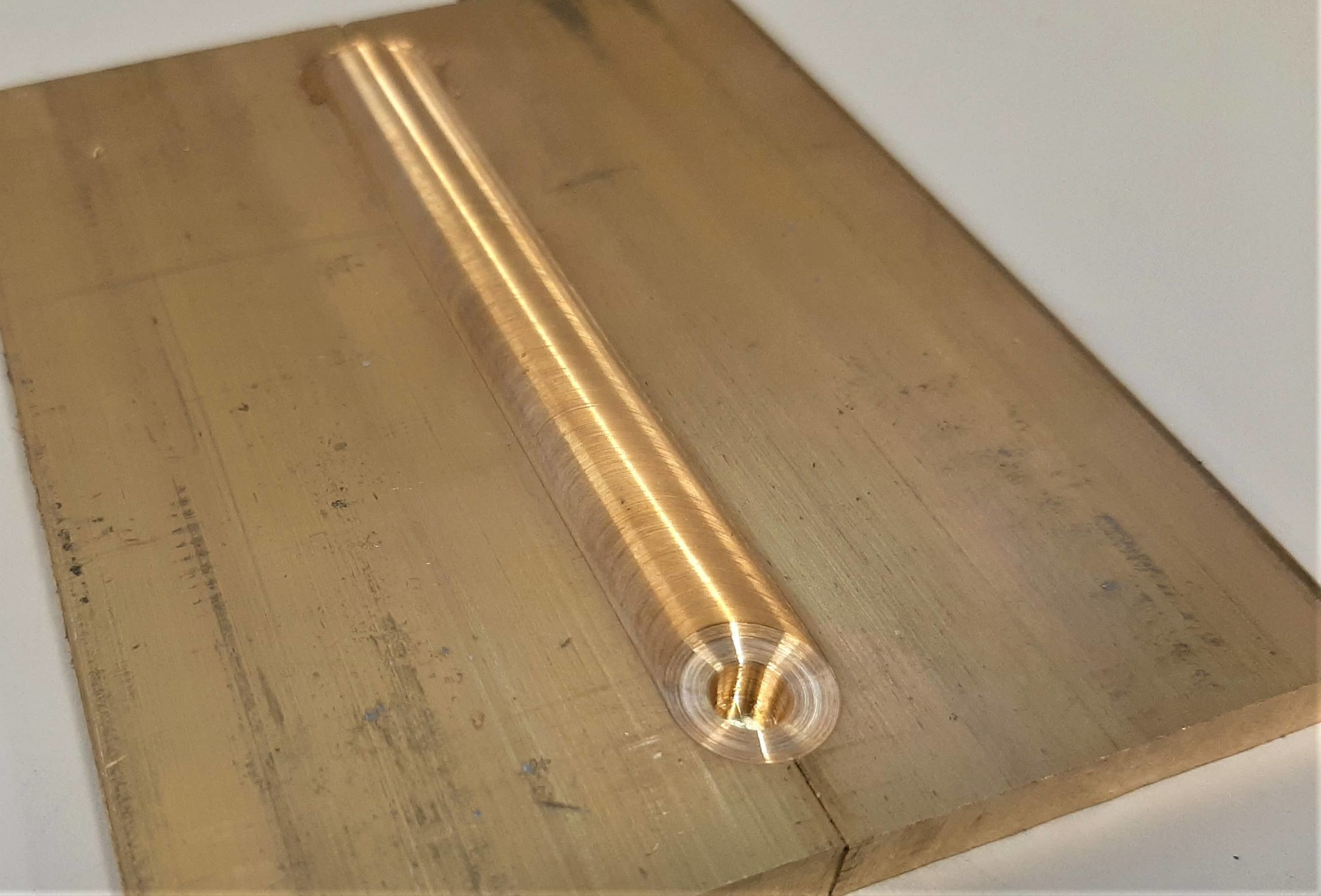 FSW of brass components