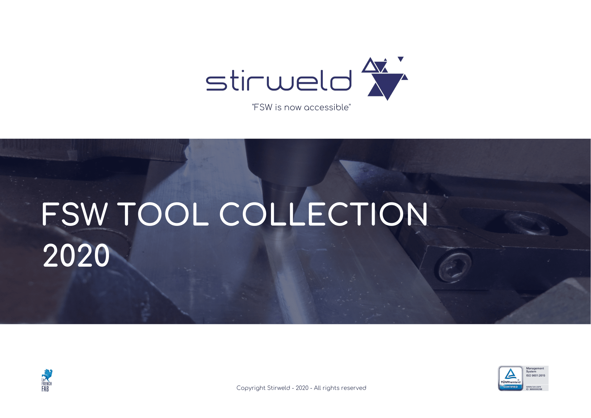 catálogo herramientas de soldadura  fsw